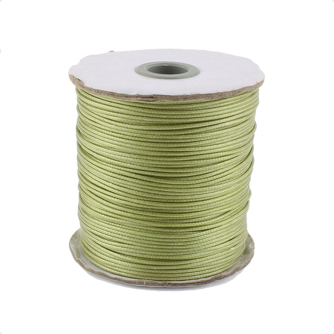 DIY Bracelet Necklace Cotton Waxed Making String Beading Thread Cord Roll Green 190 Yard