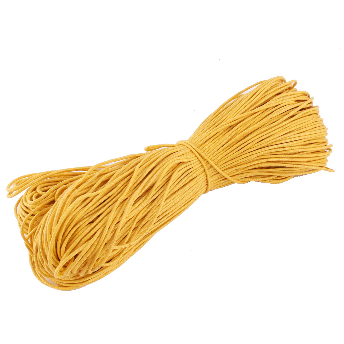 Bracelet Necklace Round Faux Leather Making String Beading Thread Cord Apricot 80m Length