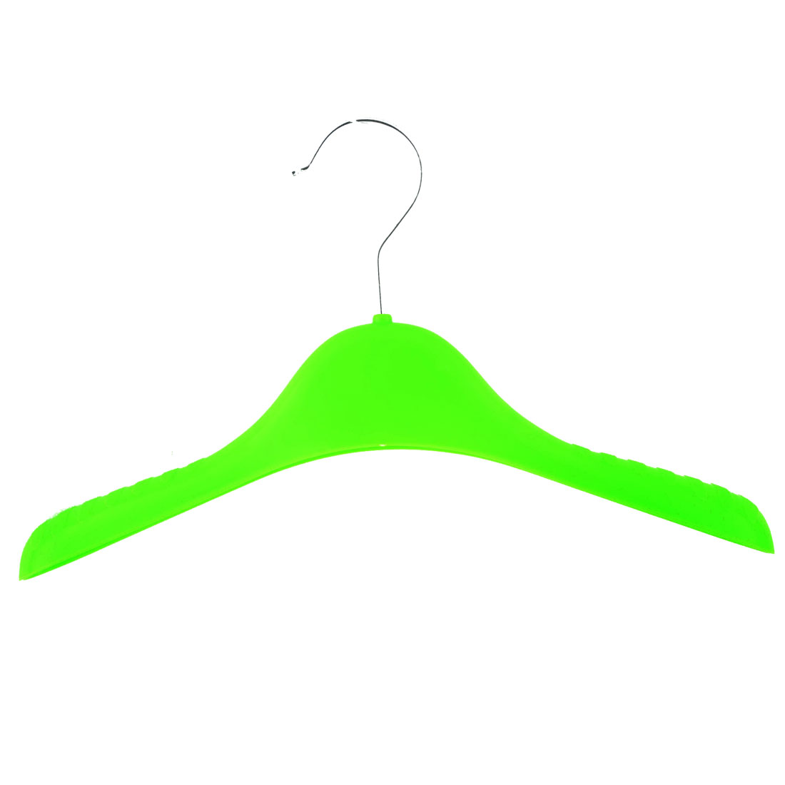 Household Nonslip Clothes Skirts Pants Trousers Towel Hangers Hooks Holder Green