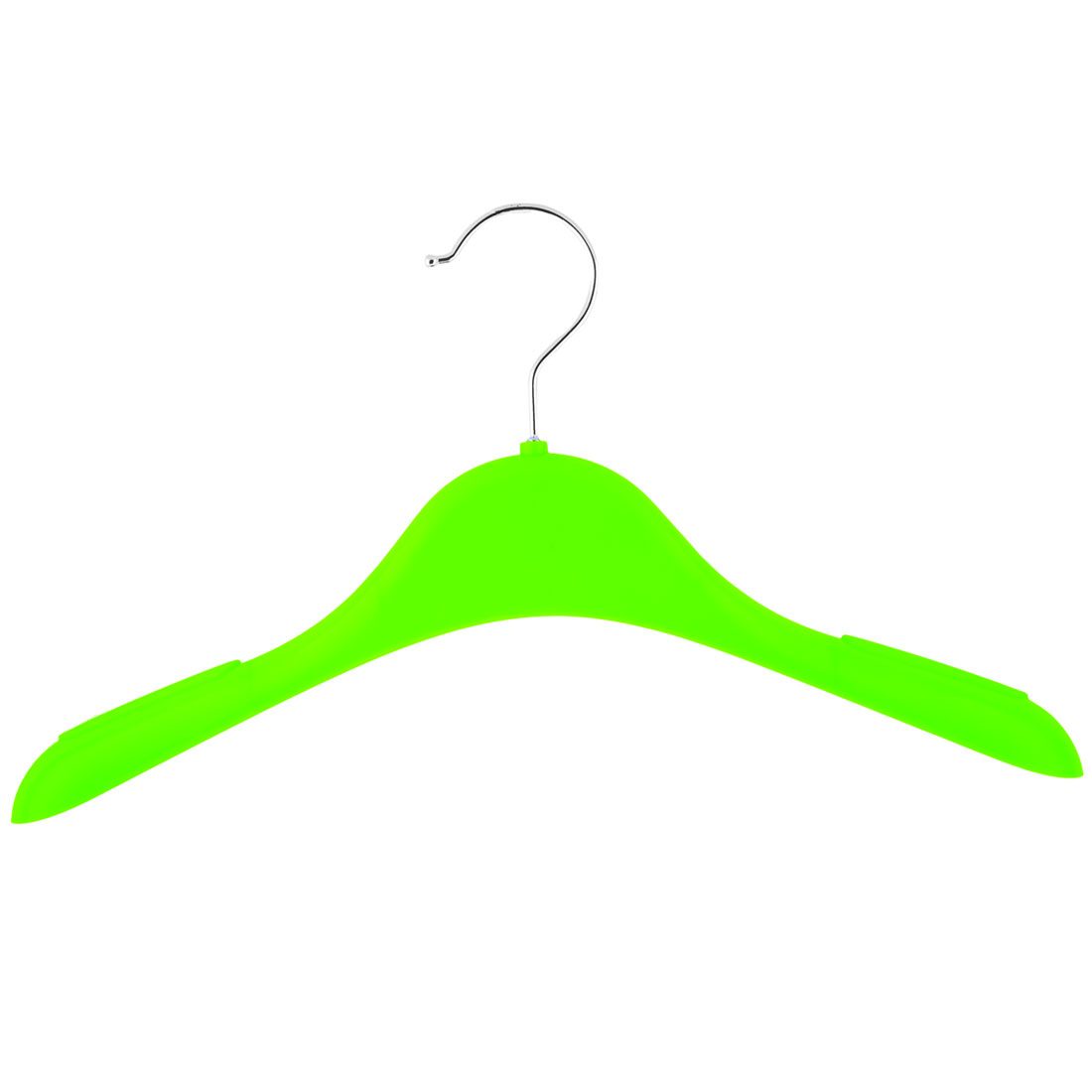 Household Plastic Antislip Clothes Skirts Pants Trousers Towel Hangers Hooks Green