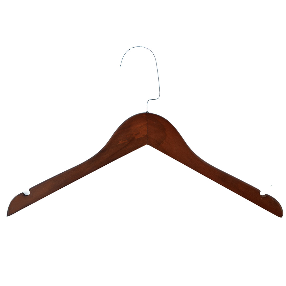 Household Bathroom Wooden Nonslip Suits Pants Clothes Clothing Hanger Hook Wooden Color