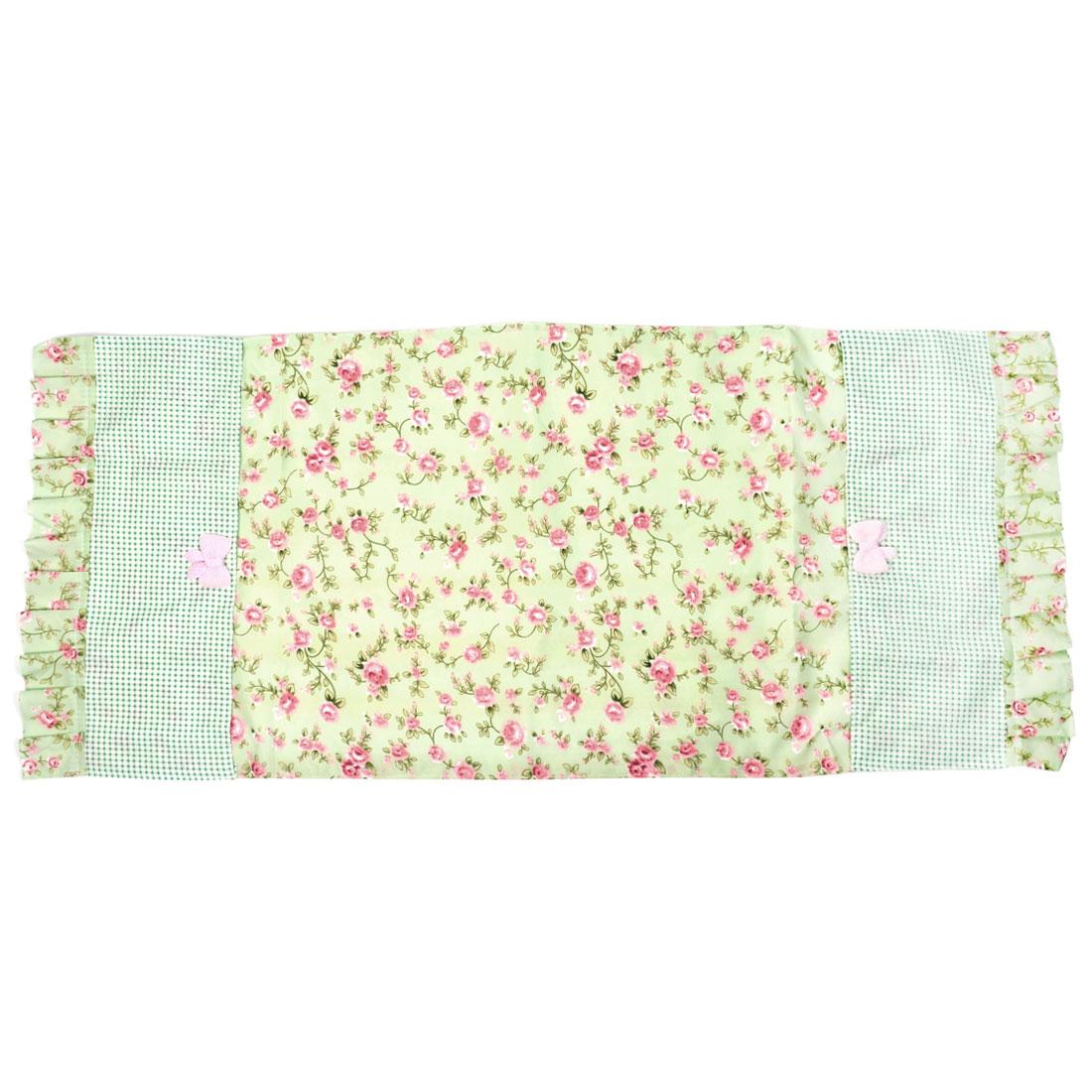 Household Refrigerator Fridge Desktop Fabric Flower Pattern Dustproof Dust Cover
