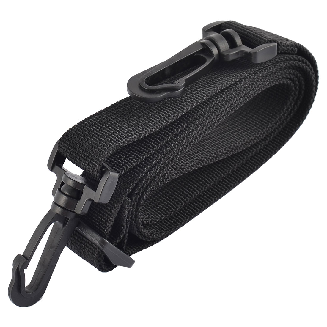 Nylon Computer Bag SLR Camera Single Shoulder Neck Belt Luggage Straps Black