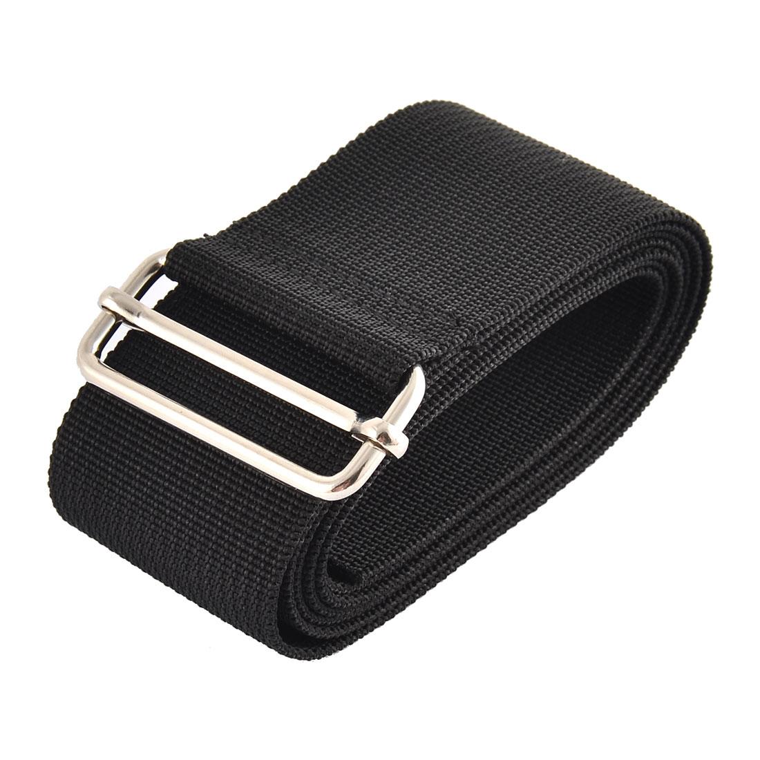 Home Travel Nylon Adjustable Suitcase Luggage Strap Belt Loop Black 1.5M Length