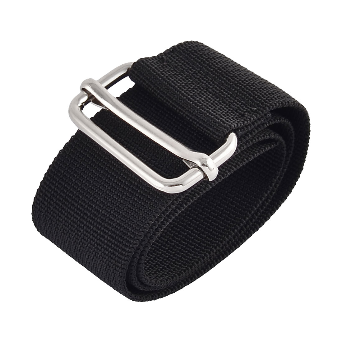 Home Travel Nylon Adjustable Suitcase Luggage Strap Belt Buckle Black 3.8 x 50cm