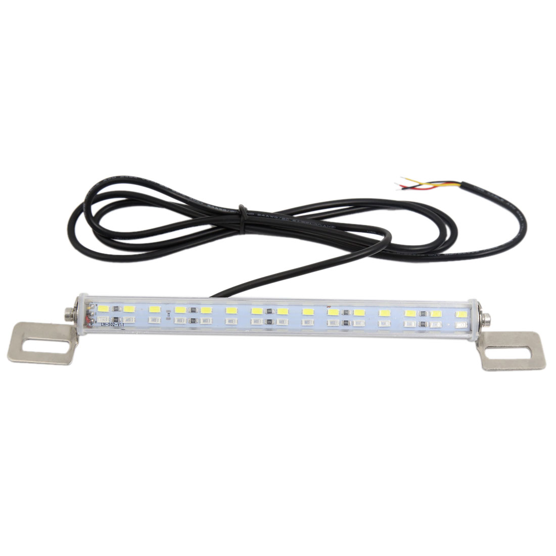 Universal Car White Red 30 LED License Plate Backup Brake Auxiliary Light