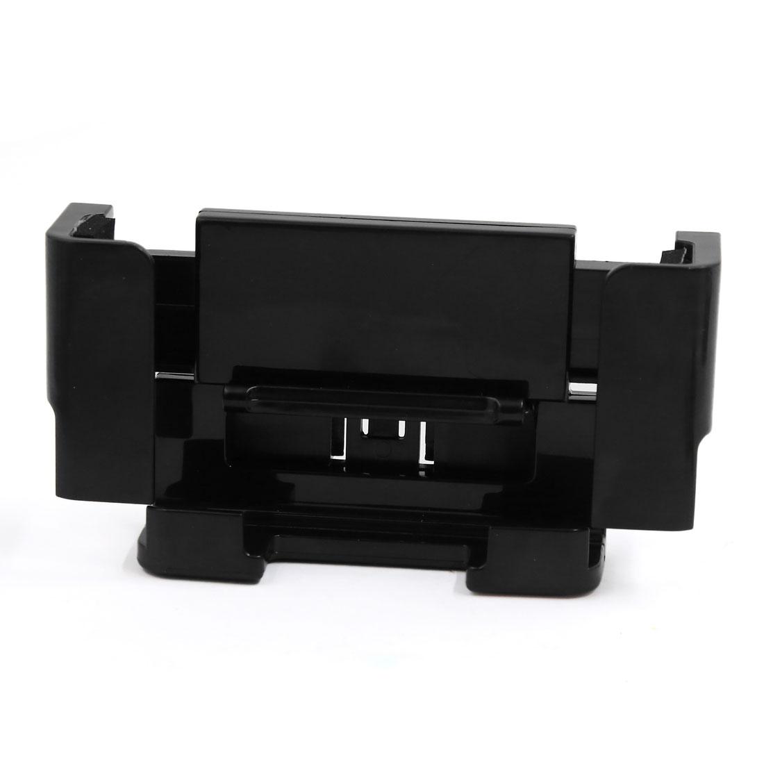 Car Black Plastic Windshield Dashboard Mount Smartphone MP5 Holder Bracket