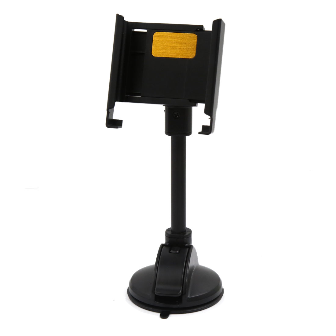 Universal Adjustable Windshield Mount Cell Mobile Phone GPS Holder Bracket Black