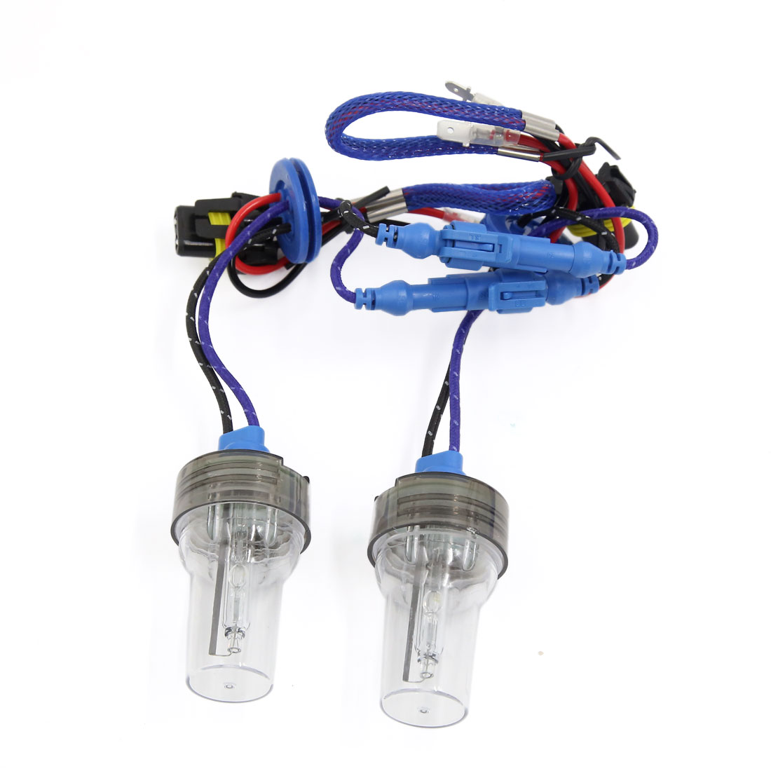 2PCS DC12V 35W-45W 5500K Auto Car H1 HID Xenon Headlight Light Lamp Bulbs