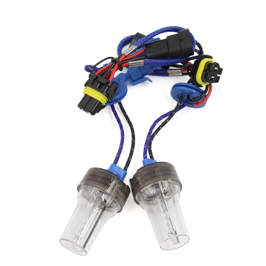 DC 12V 5500K 35W-45W Auto Car 9006 HID Xenon Headlight Light Lamp Bulbs 2PCS