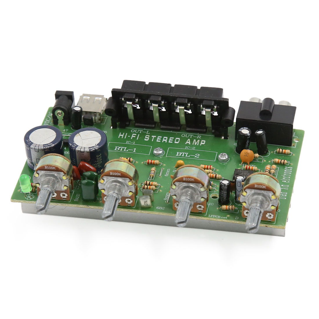 DC 12V-15V 200W Audio Stereo Power Amplifier Board for Vehicle Car