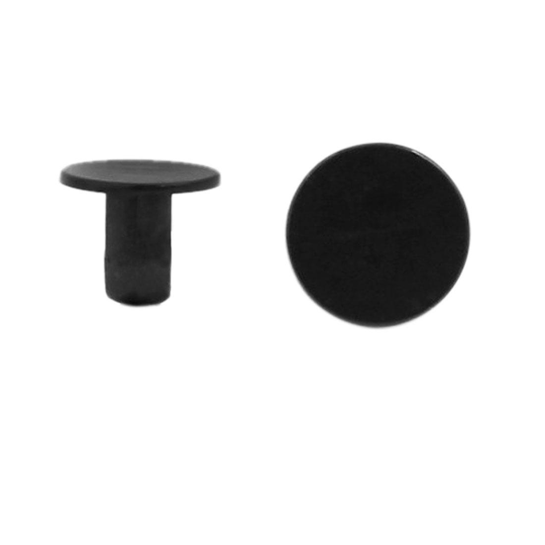 Black Bumper Door Trim Rivet Moulding Panel Clips Retainer Fastener 100 Pcs