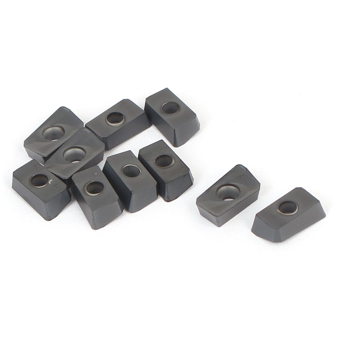 Machine Lathe Milling Tool Rectangle Carbide Turning Insert 11mm Long 10pcs