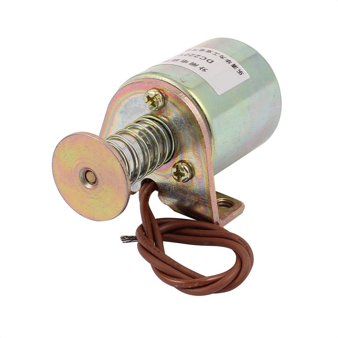 DC 220V 70N High Voltage Push Pull Type Open Frame Solenoid Electromagnet Magnet