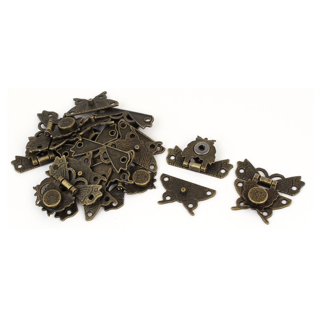 40mm x 51mm x 9mm Spring Draw Toggle Latch 10PCS for Chest Box Cabinet Suitcase