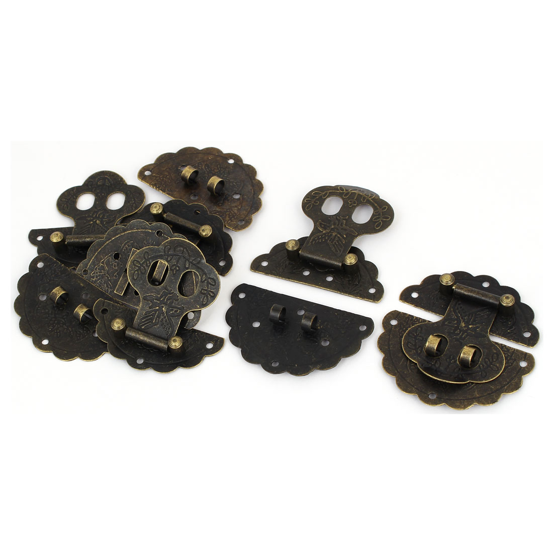 60mm Dia Spring Draw Toggle Latch 5PCS for Chest Box Cabinet Suitcase