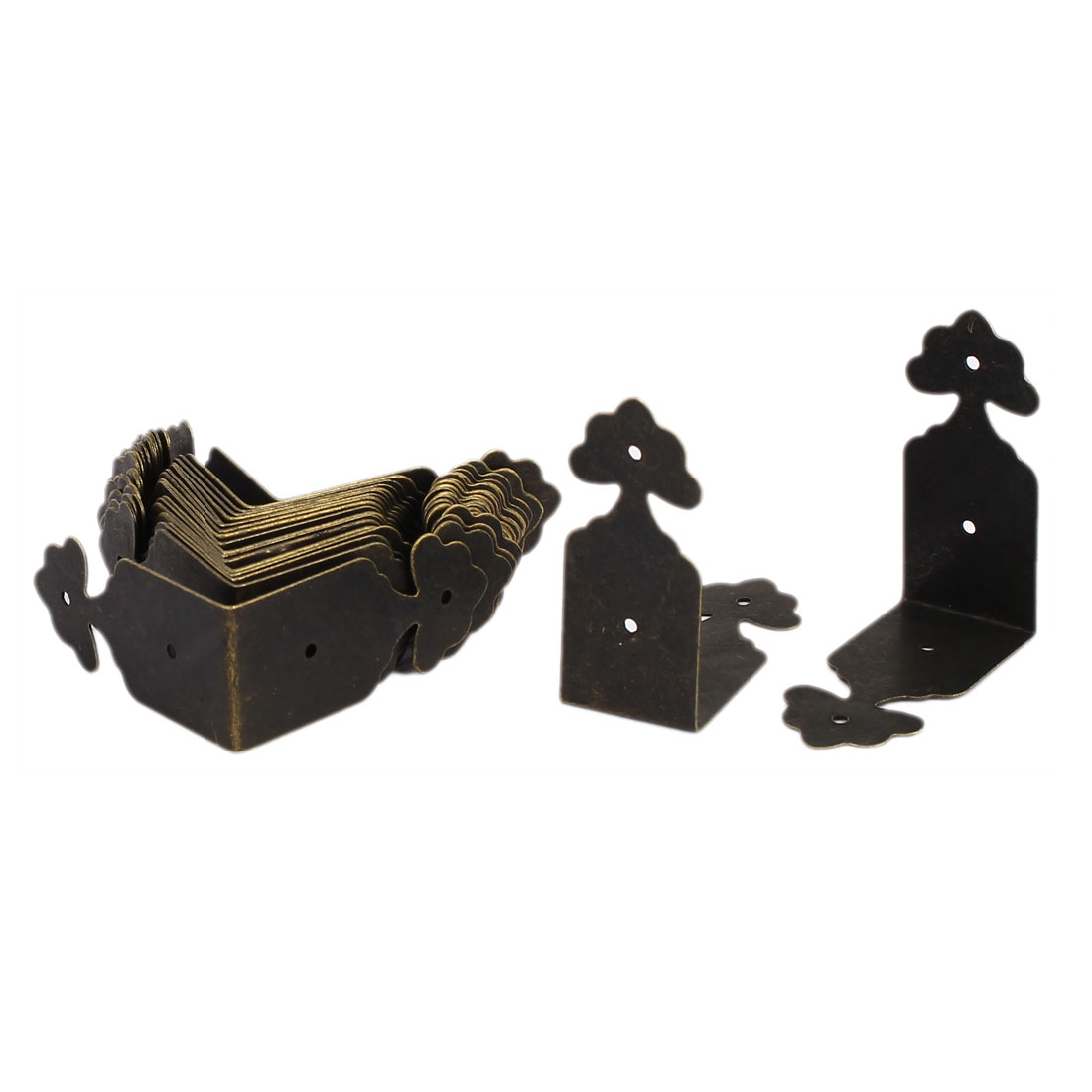 Table Chest Gift Box Desk Edge Cover Corner Protector 39mm x 18mm 20PCS