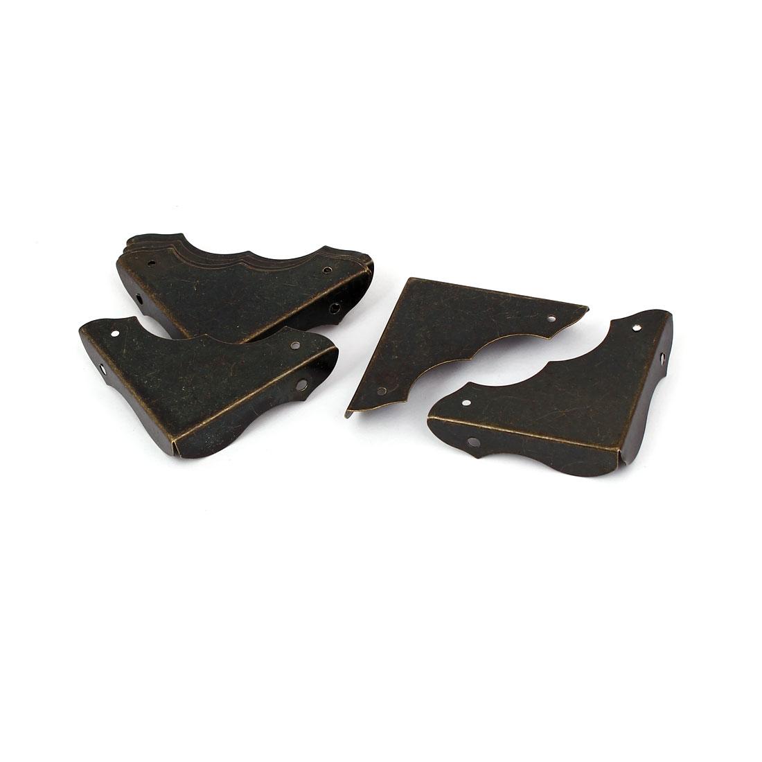 Chest Wine Case Wooden Box 40mm x 9mm Feet Leg Corner Protector 8PCS w Screws