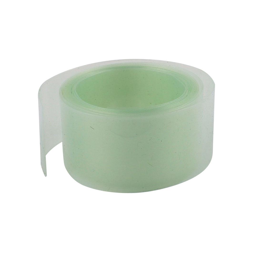 6.5ft 18.5mm Dia Transparent PVC Heat Shrink Tubing Battery Protective Tube