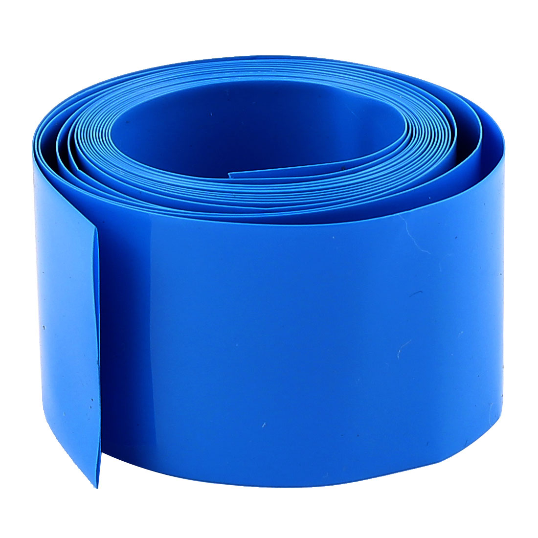 2m x 18.5mm Dia PVC Insulated Heat Shrink Tubing Battery Protective Tube Blue