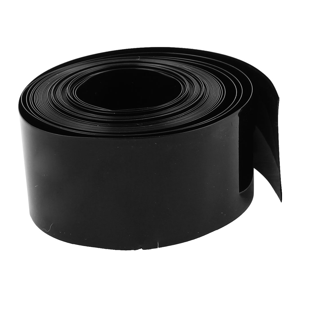 16ft 18.5mm Dia PVC Insulated Heat Shrink Tubing Battery Protective Tube Black
