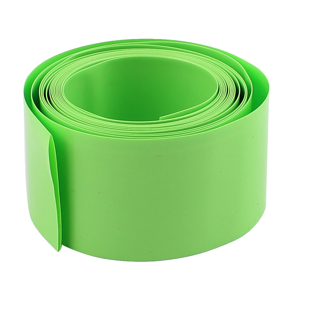 6.5ft Length 18.5mm Dia PVC Heat Shrinkable Tube Battery Protective Casing Green