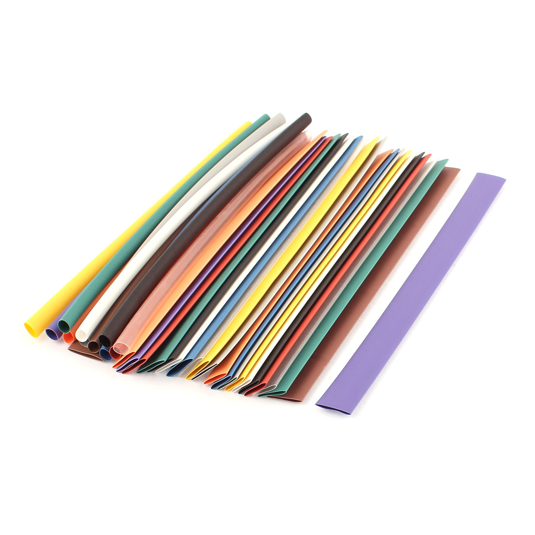 """7.87"""" Length Assorted Color&Size Heat Shrink Tubing Sleeving Wrap Wire Kit 33pcs"""