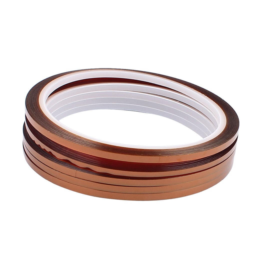 10 Pcs 0.3cm x 33m High-Temperature Resistance Polymide DIY Tape Goldfinger