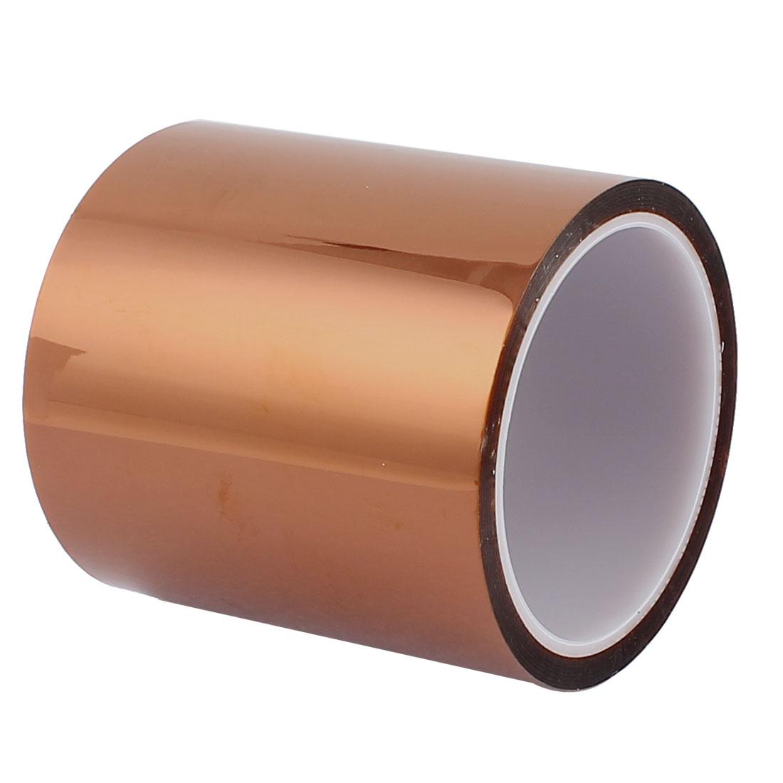 10CM Width 33M Long DIY Tape High Temperature Heat Resistant Polyimide