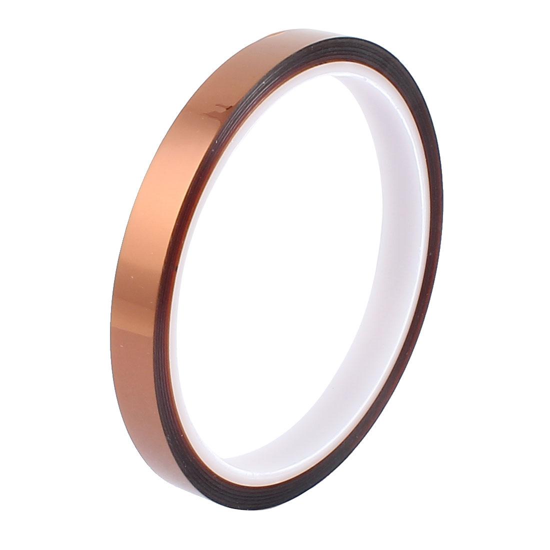 1CM Width 30M Long DIY Tape High Temperature Heat Resistant Polyimide