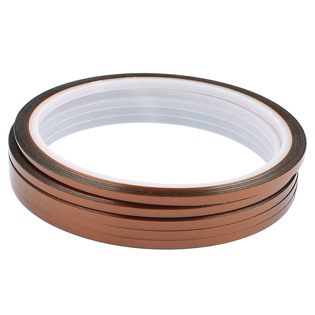 5 Pcs 0.3CM Width 30M Long DIY Tape High Temperature Heat Resistance Polyimide