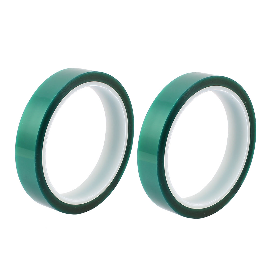 2pcs 18mm Width 33M Long Green PET High Temperature Heat Resistant PCB Solder Tape