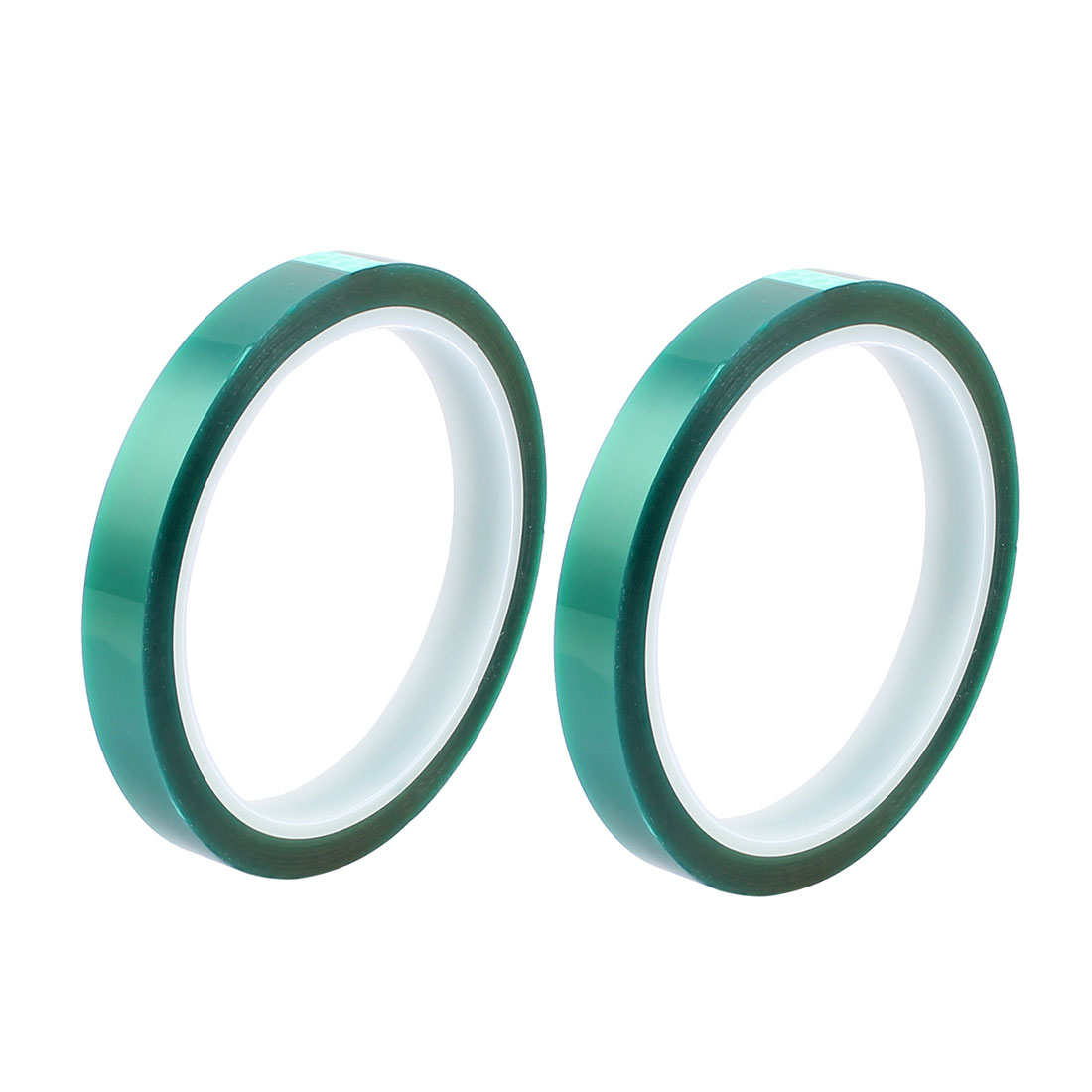 2pcs 12mm Width 33M Long Green PET High Temperature Heat Resistant PCB Solder Tape