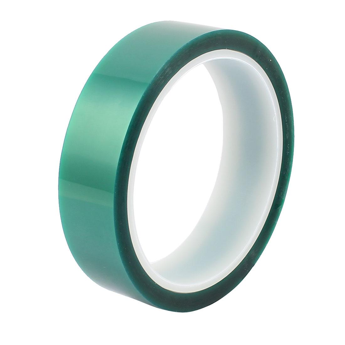 25mm Width 33M Length Green PET High Temperature Heat Resistant PCB Solder Tape