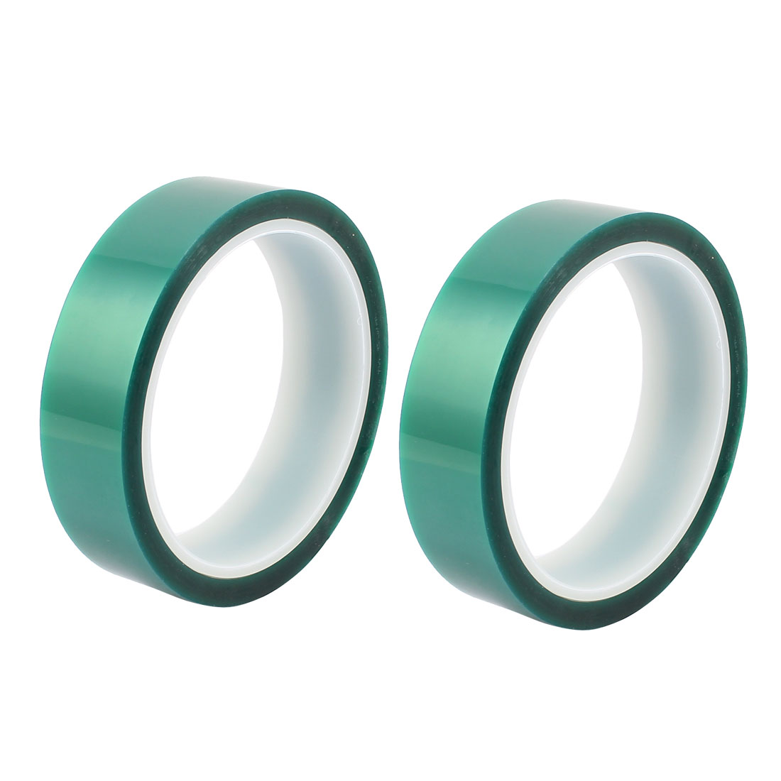 2pcs 25mm Width 33M Long Green PET High Temperature Heat Resistant PCB Solder Tape