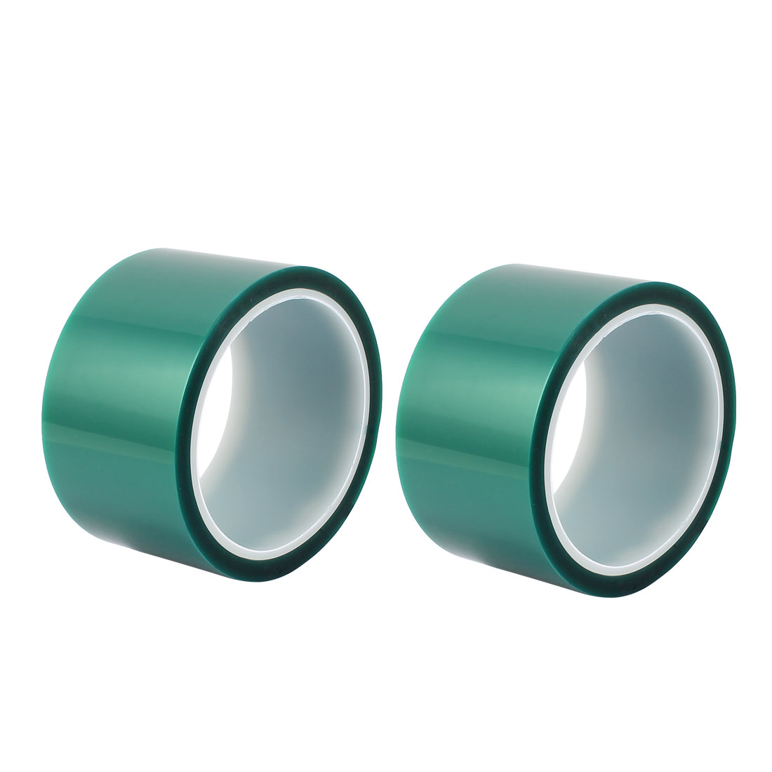 2pcs 55mm Width 33M Long Green PET High Temperature Heat Resistant PCB Solder Tape