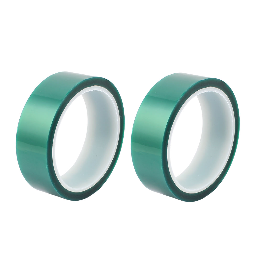 2pcs 30mm Width 33M Long Green PET High Temperature Heat Resistant PCB Solder Tape