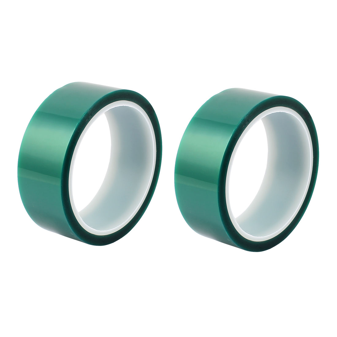 2pcs 35mm Width 33M Long Green PET High Temperature Heat Resistant PCB Solder Tape