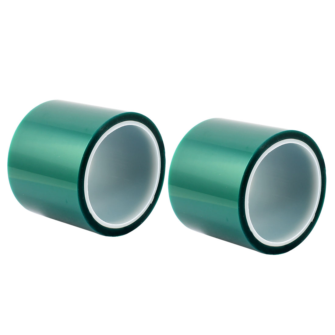 2pcs 80mm Width 33M Long Green PET High Temperature Heat Resistant PCB Solder Tape