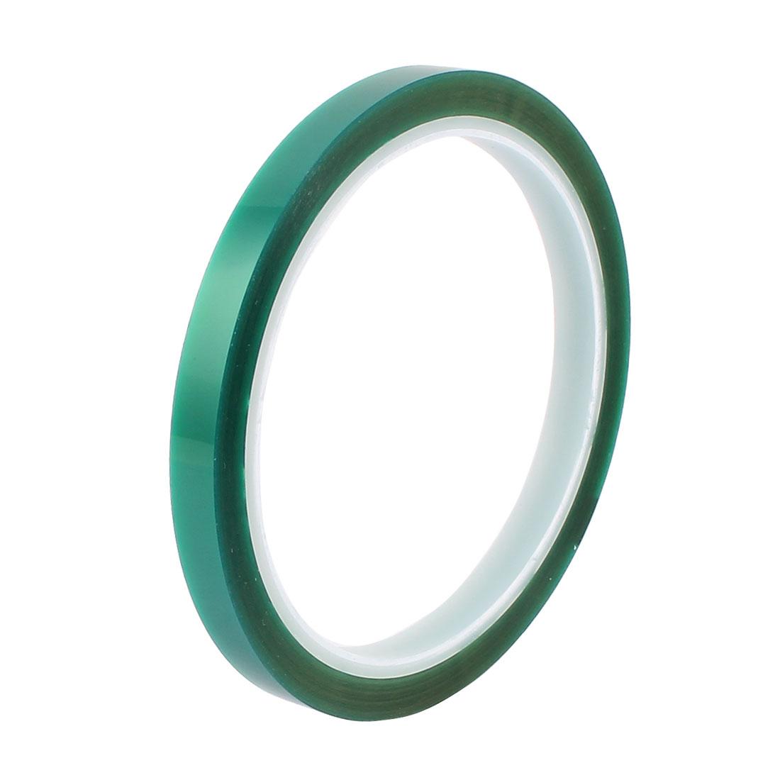 8mm Width 33M Length Green PET High Temperature Heat Resistant PCB Solder Tape