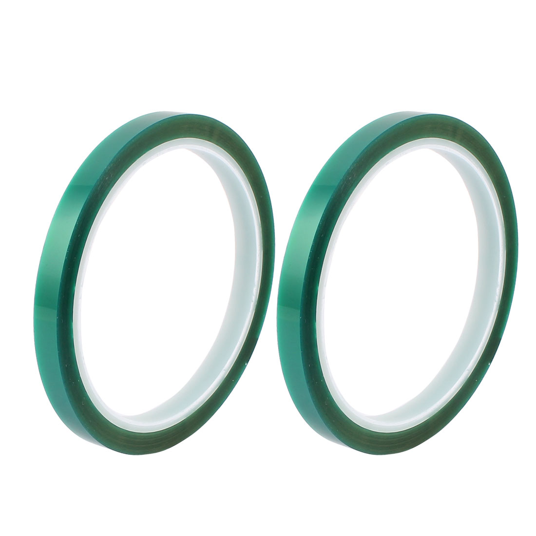 2pcs 8mm Width 33M Long Green PET High Temperature Heat Resistant PCB Solder Tape