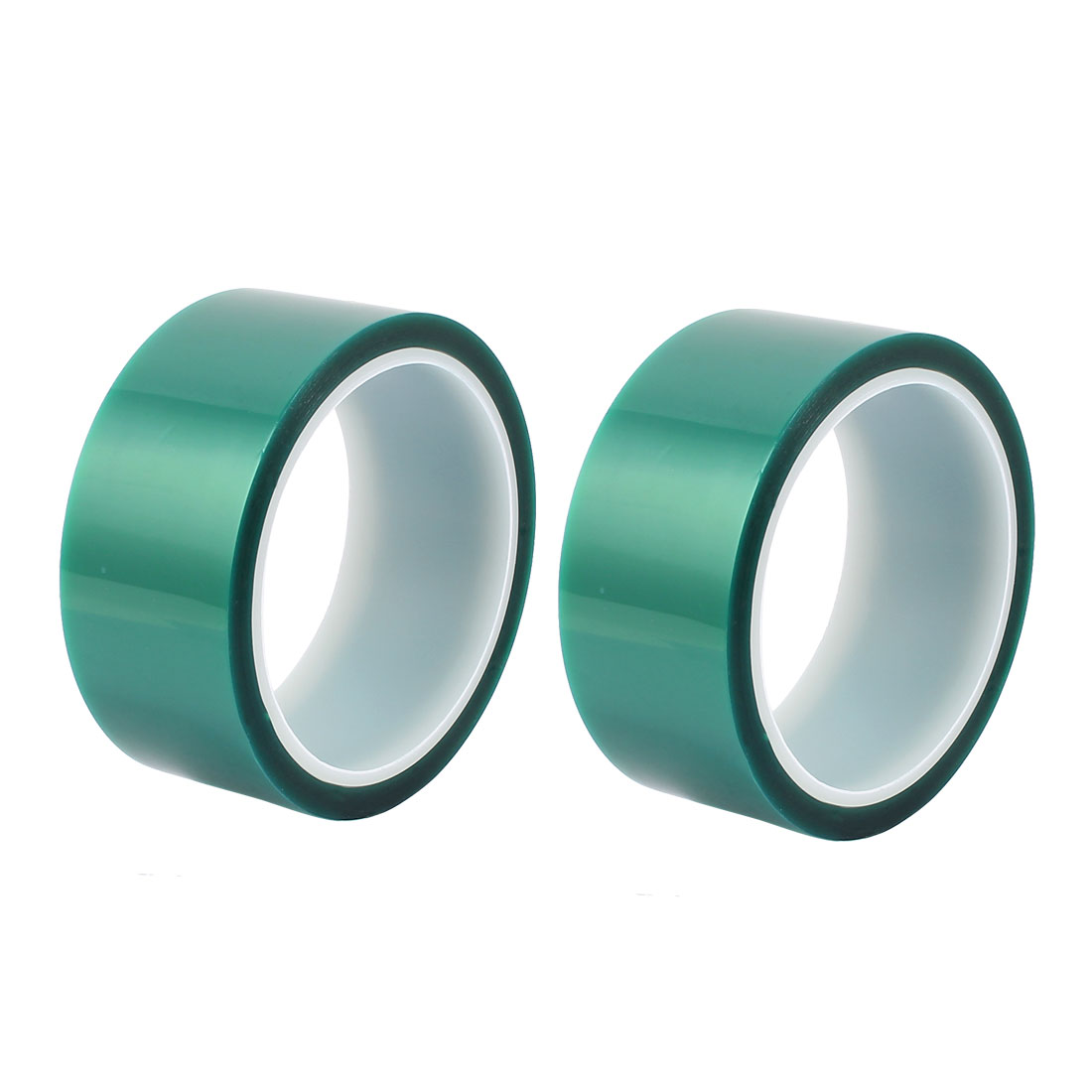 2pcs 40mm Width 33M Long Green PET High Temperature Heat Resistant PCB Solder Tape