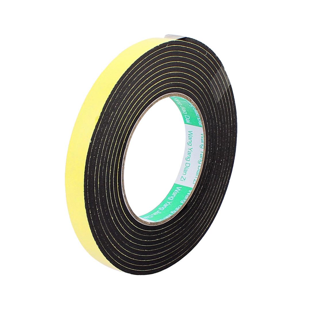 1.5CM Width 4M Length 3MM Thick Single Sided Sealing Shockproof Sponge Tape
