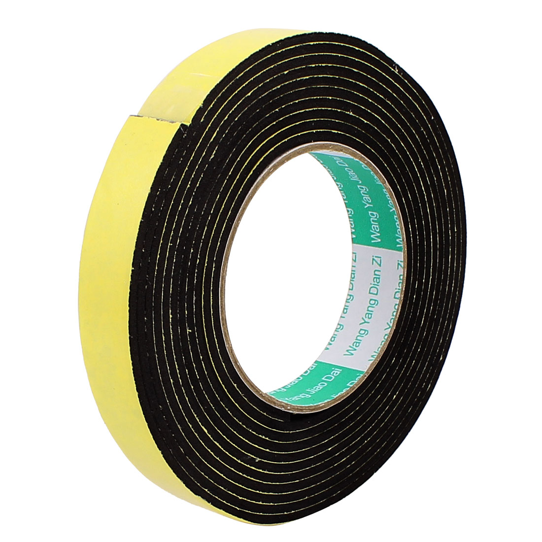 2CM Width 4M Length 3MM Thick Single Sided Sealing Shockproof Sponge Tape