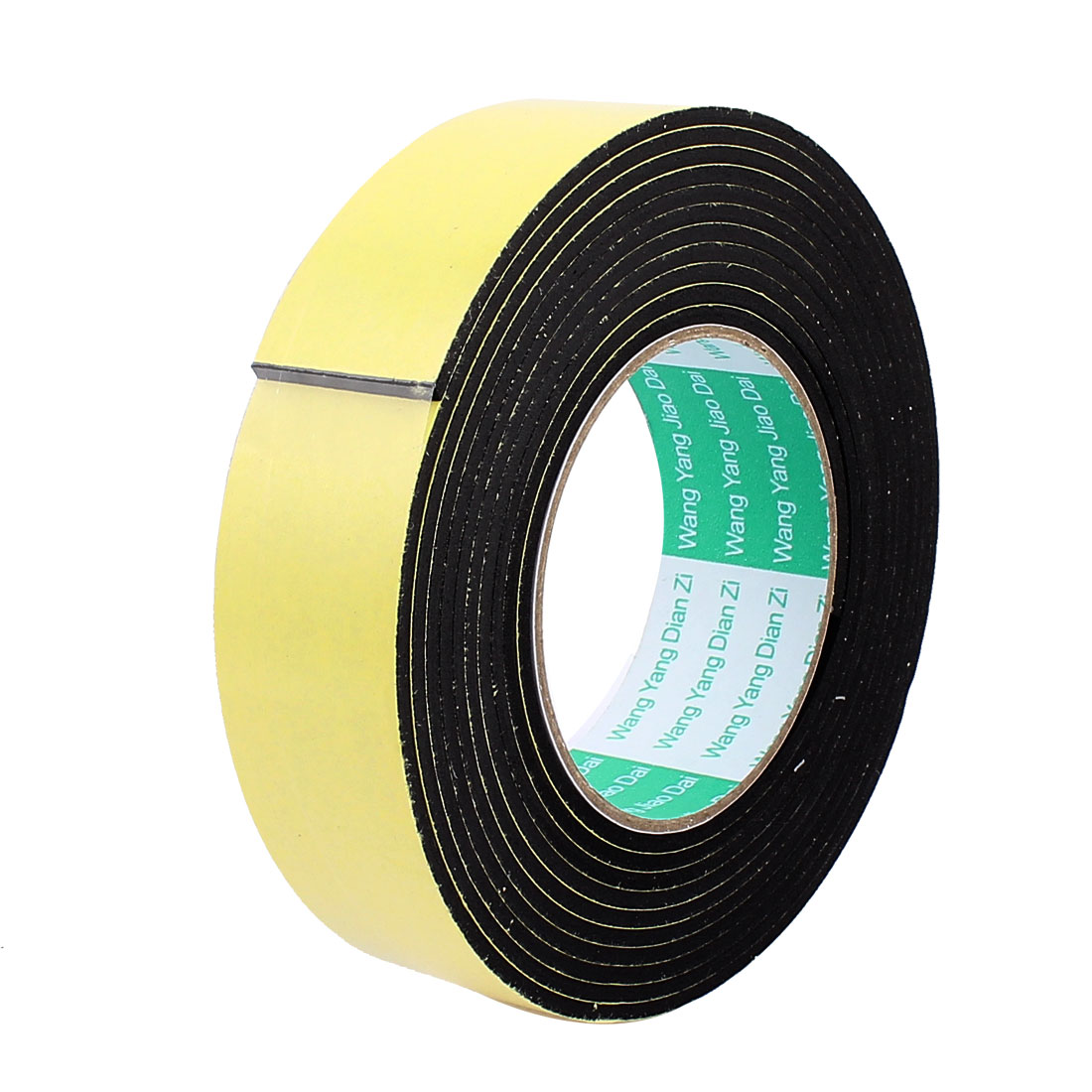 3.5CM Width 4M Length 3MM Thick Single Sided Sealing Shockproof Sponge Tape