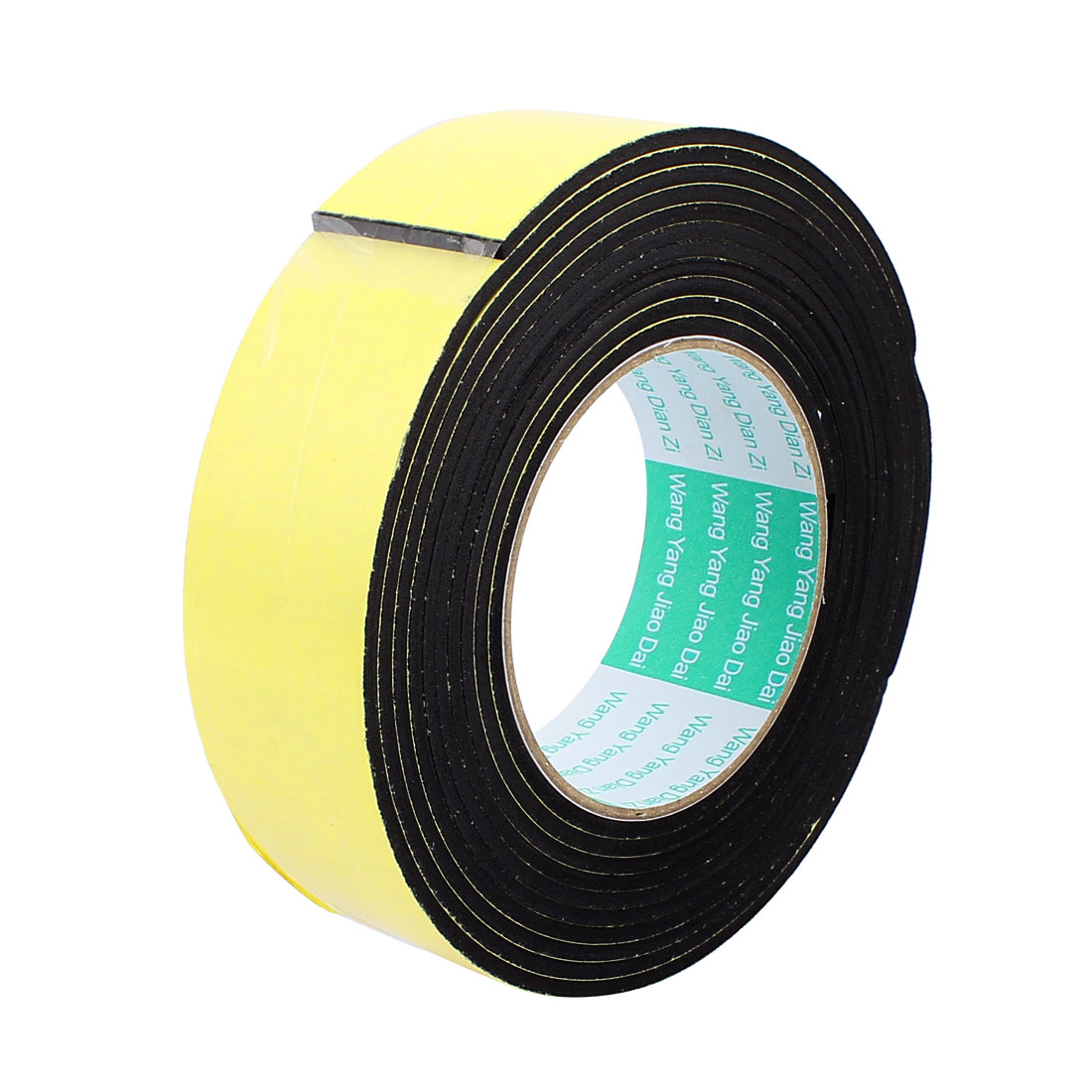 """1.57"""" Width 1.57ft Length 1/10"""" Thick Single Sided Sealing Shockproof Sponge Tape"""