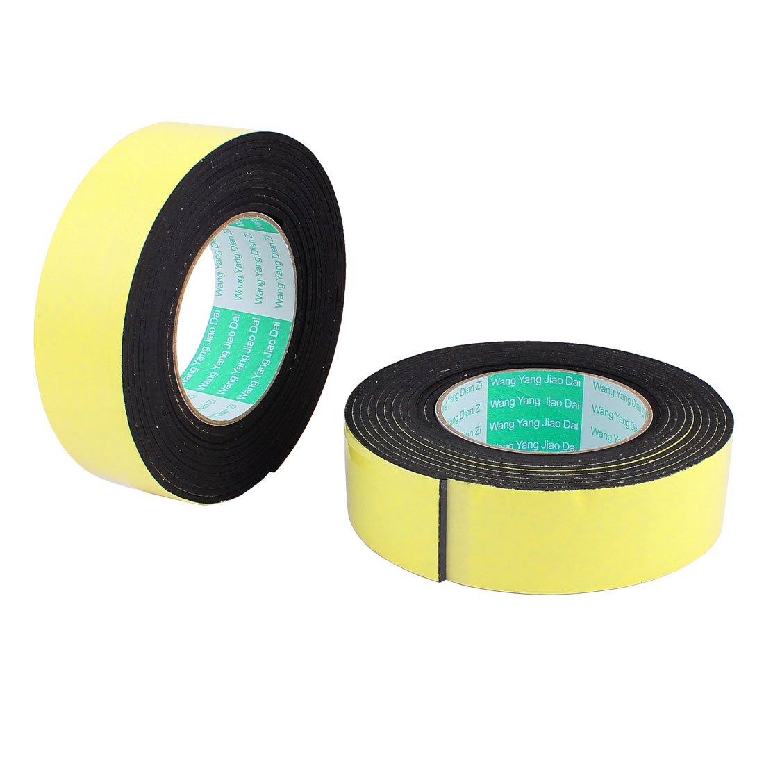 2Pcs 4CM Width 4M Length 3MM Thick Single Sided Sealing Shockproof Sponge Tape