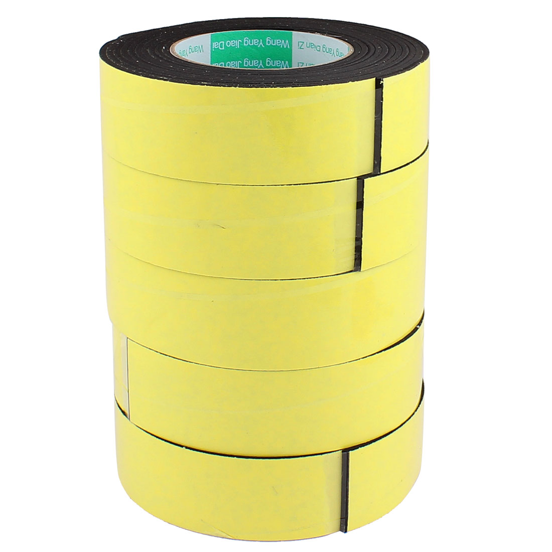 5Pcs 4CM Width 4M Length 3MM Thick Single Sided Sealing Shockproof Sponge Tape