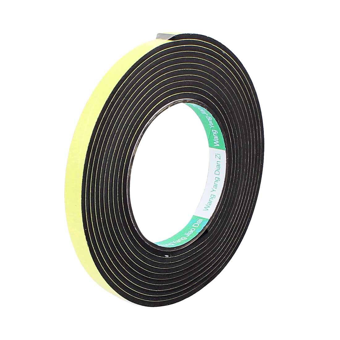 0.8CM Width 4M Length 3MM Thick Single Sided Sealing Shockproof Sponge Tape