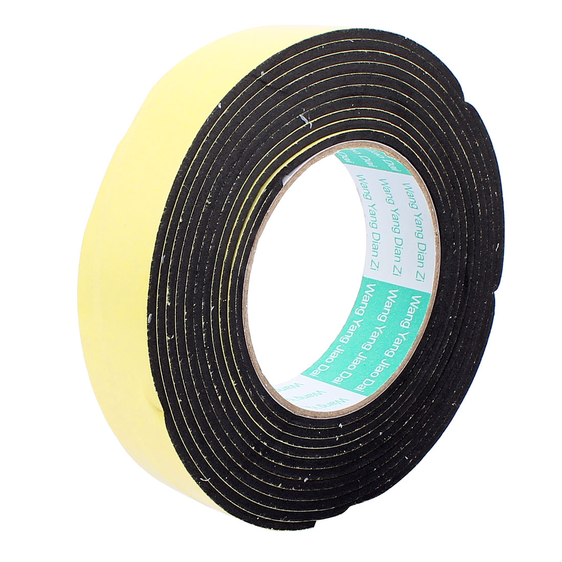 3cm Width 4 Meters Length 3mm Thick Single Sided Sealing Shockproof Sponge Tape